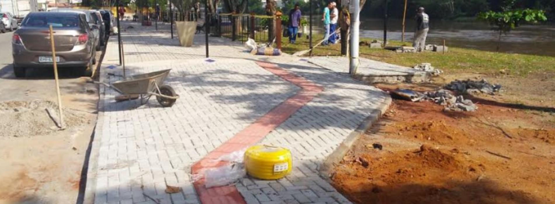 Obra na Beira Rio em Barra Mansa sofre ataque de vândalos - Revista ...